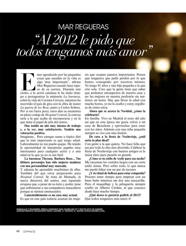 Revista AR - Mar Regueras