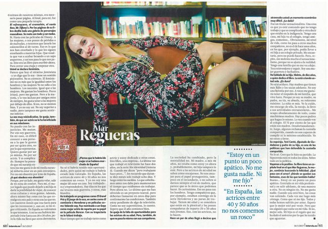 Mar Regueras - Interviú